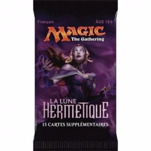 1 BOOSTER DE 15 CARTES SUPPLÉMENTAIRES LA LUNE HERMETIQUE DE MAGIC THE GATHERING
