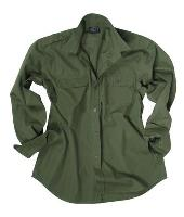 CHEMISE US RIPSTOP VERT OLIVE OD TAILLE S