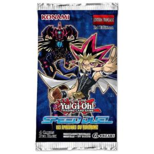 1 BOOSTER DE 4 CARTES SUPPLEMENTAIRES YU GI OH SPEED DUEL - LES EPREUVES DU ROYAUME