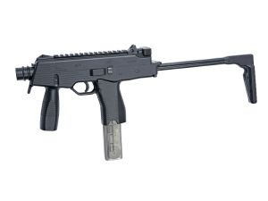 MITRAILLEUR FUSIL A BILLES MP9 A1 AEG ASG 17380 CROSSE RABATTABLE AIRSOFT