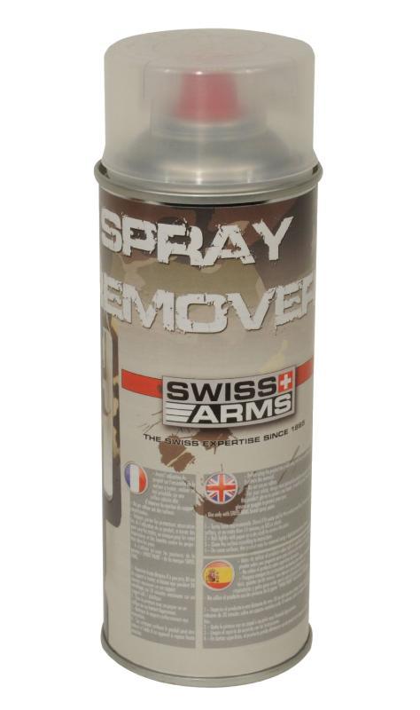 603710 dissolvant 400ml swiss arms peinture spray paint - Peinture en bombe pour plastique ...