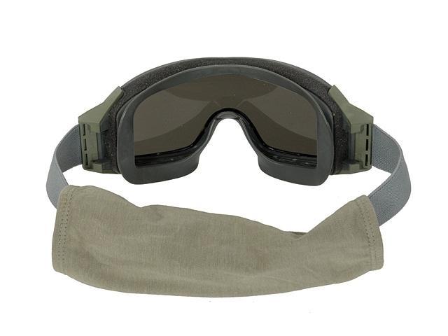 bd6471 lunette masque protection kaki feuillage ecrans. Black Bedroom Furniture Sets. Home Design Ideas