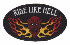 ECUSSON / PATCH RIDE LIKE HELL