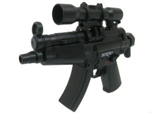 FUSIL A BILLES MINI MP5 ELECTRIQUE FULL AUTO HOP UP DOUBLE EAGLE 0.24 JOULE