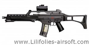 G36 SNIPER H&K EN PACK COMPLET SPRING SHOOT UP 0.5 JOULE