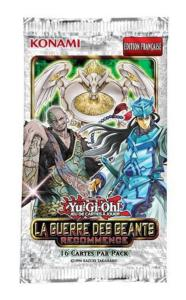 BOOSTER DE 16 CARTES SUPPLEMENTAIRES YU GI OH LA GUERRE DES GEANTS RECOMMENCE