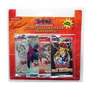 PACK 4 BOOSTERS DIFFERENTS SUPPLEMENTAIRES YU GI OH VERSION ESPAGNOL