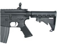 M&P15 X SMITH ET WESSON AEG METAL SEMI ET FULL AUTO HOP UP AVEC RAILS 1.1 JOULE
