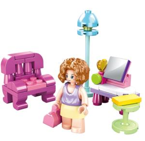 JEU DE CONSTRUCTION COMPATIBLE LEGO SLUBAN GIRL'S DREAM LE SALON M38-B0800C FIGURINE ARTICULE