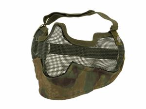 MASQUE DE PROTECTION DEMI GRILLAGE ACIER CAMO ATAK FG GRAND MODELE