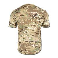 TEE SHIRT CAMOUFLAGE MULTITARN COL ROND ET MANCHES COURTES