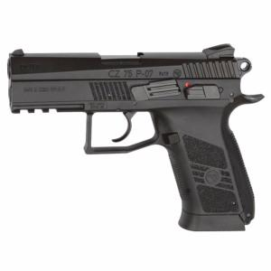 CZ 75 P-07 DUTY CO2 BLOWBACK FULL METAL NOIR 2.1 JOULE SEMI AUTO 4.5 MM AIRGUN
