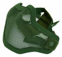 MASQUE DE PROTECTION DEMI GRILLAGE METAL VERT PETIT MODELE STRIKE SYSTEMS