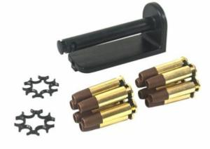 MOON CLIP SET 4.5MM 12 DOUILLES POUR DAN WESSON 715 REVOLVER AIRGUN