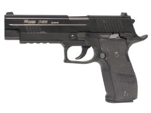 SIG SAUER P226 X-FIVE CO2 METAL BLOWBACK ET SYSTEME BAX 1,1 Joule