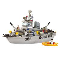 JEU DE CONSTRUCTION BRIQUE EMBOITABLE SLUBAN ARMY DESTROYER MILITAIRE M38-B0125 SOLDAT ARTICULE
