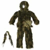 GHILLIE SUIT SPECIAL FORCES / TENUE DE CAMOUFLAGE 4 PIECES CAMO WOODLAND XL / XXL