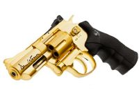 DAN WESSON REVOLVER 2.5 POUCES CO2 OR METAL 1.4 JOULE AVEC RAIL EDITION LIMITEE