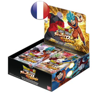 24 BOOSTERS DE 12 CARTES SUPPLEMENTAIRES DRAGON BALL Z SUPER CARD GAME THE TOURNAMENT OF POWER TB01