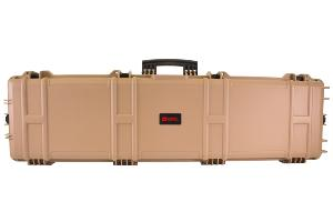 MALLETTE DE TRANSPORT XL WATERPROOF TAN 137 X 39 X 15 CM MOUSSE PRE-DECOUPEE NUPROL