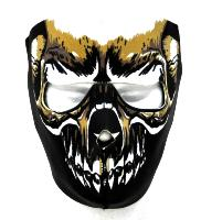 MASQUE DE PROTECTION NEOPRENE INTEGRAL TYPE DEAD FACE DMONIAC