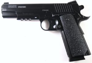 SIG SAUER GSR 1911 CO2 FULL METAL AVEC RAIL 1.1 JOULE