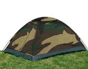 "TENTE "" IGLOO STANDARD "" ETANCHE 2 PLACES CAMOUFLAGE WOODLAND"