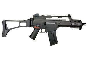G36 C ADVANCED DUAL POWER SPRING ET AEG 0.5 JOULE H&K + BATTERIE + CHARGEUR