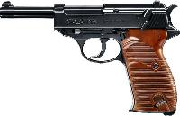 P38 WALTHER BICOLORE CO2 BLOW BACK 2 JOULES