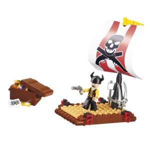 JEU DE CONSTRUCTION COMPATIBLE LEGO SLUBAN PIRATE RADEAU DE PIRATES M38-B0277 FIGURINE ARTICULE