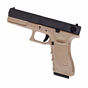G17 WE GEN 4 GAZ BLOWBACK CULASSE METAL TAN 0.9 JOULE