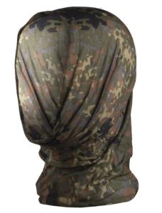 BANDEAU / HEADGEAR MULTIFONCTION EXTENSIBLE CAMOUFLAGE FLECKTARN