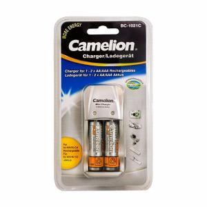 CHARGEUR PILES POUR AAA AA NI-MH NI-CD BC-1021C + 2 ACCUS AA 2300 MAH CAMELION