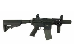 ELITE FORCE EF 18 NOIR MINI PATRIOT CQB AEG UMAREX SEMI ET FULL AUTO 1 JOULE POIGNEE, BAT ET CHARG
