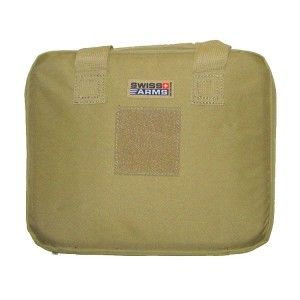 HOUSSE DE PROTECTION TAN BEIGE 29.5 X 24 CM SWISS ARMS POUR 2 PISTOLETS