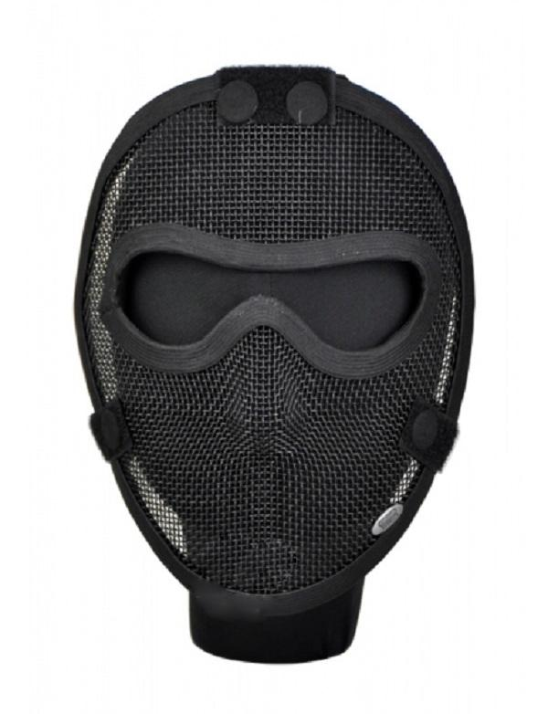 masque de protection visage en grillage noir tmc tmc0703 airsoft. Black Bedroom Furniture Sets. Home Design Ideas