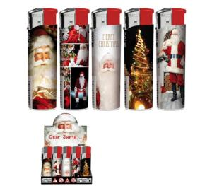 BRIQUET PERE NOEL ELECTRONIQUE RECHARGEABLE