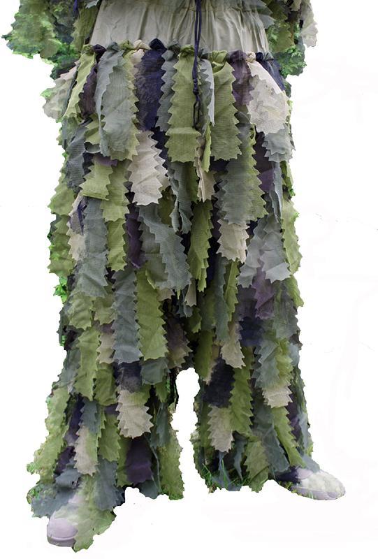 ghillie suit ou tenue camouflage 3 pieces camo oak leaf 3d. Black Bedroom Furniture Sets. Home Design Ideas