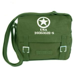 SAC BESACE OU MUSETTE VERT OLIVE ALLIED STAR