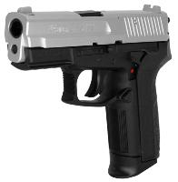 SIG SAUER SP 2022 CO2 METAL NOIR ET CHROME 1.75 JOULE SEMI AUTO 4.5 MM AIRGUN