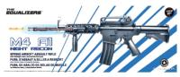 FUSIL D'ASSAUT M4 A1 PLAN BETA NIGHT RECON SPRING ABS NOIR 0.5 JOULE + LAMPE + LASER + POIGNEE
