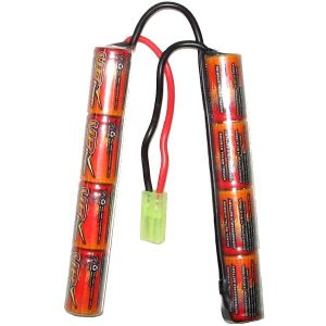 BATTERIE 9.6 V 1600 MAH TYPE MINI CRANE 8 ELEMENTS