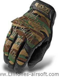GANTS MECHANIX ORIGINAL COVERT CAMOUFLAGE