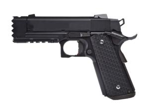 GOLDEN EAGLE HI-CAPA STRIKE WARRIOR GAZ BLOWBACK NOIR SEMI AUTO 1.2 JOULE