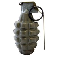 GRENADE A MAIN REPLIQUE MK-2 MK2 / RESERVOIR DE BILLES AIRSOFT