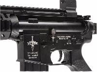 CASV M4 A1 LONG CQB ELITE KING ARMS AEG NOIR FULL METAL SEMI ET FULL AUTO 1.4JOULE SANS BAT NI CHARG