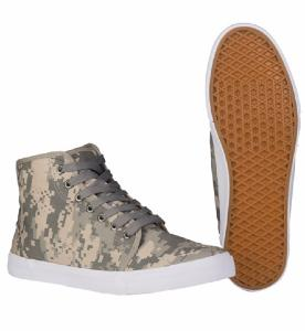PAIRE DE CHAUSSURES MONTANTES CAMOUFLAGE AT-DIGITAL TAILLE 39
