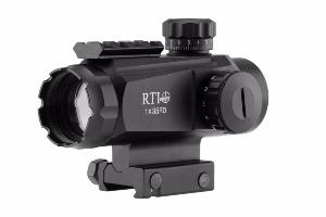 RED DOT VISÉE POINT ROUGE RTI OPTICS 1X35 RD AVEC RAIL PICTINNY 4 CM