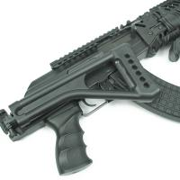 FUSIL D'ASSAUT X47 SIDE FOLDING STOCK NOIR RIS AEG 0.98 J SEMI FULL AUTO SANS BATTERIE NI CHARGEUR