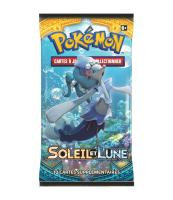1 PAQUET DE 10 CARTES BOOSTER SUPPLEMENTAIRES POKEMON SL01 SOLEIL ET LUNE A COLLECTIONNER